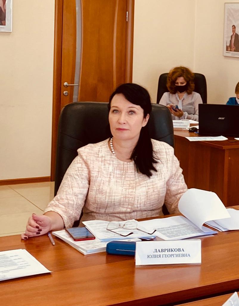 Участие в заседании Общественного совета при Министерстве экономики и территориального развития Свердловской области