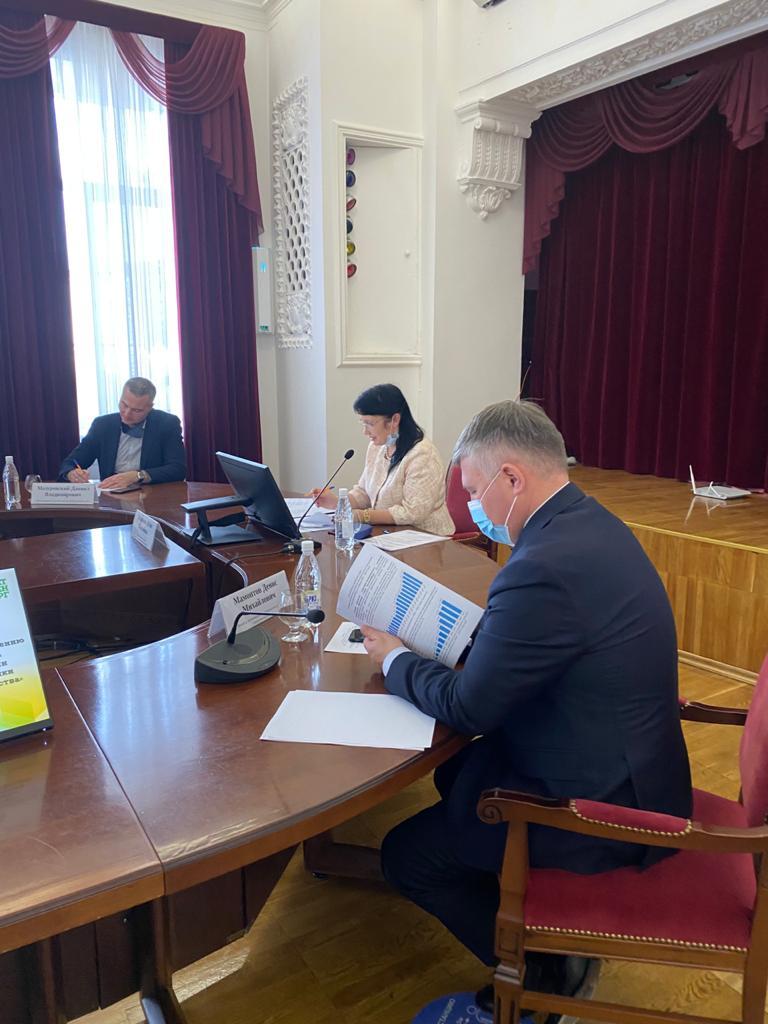 Состоялось заседание профильной комиссии по присуждению премии В.Н. Татищева и Г. В. де Геннина в номинации «За заслуги в области экономики и в развитии городского хозяйства»